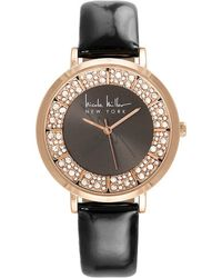 Nicole Miller - Stone-dial Analog Watch - Lyst