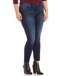 Vince Camuto - Plus Indigo Skinny Jean - Lyst