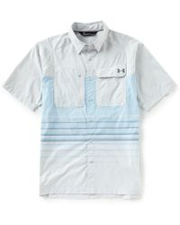 Under Armour - Fish Hunter Short-sleeve Woven Shirt - Lyst