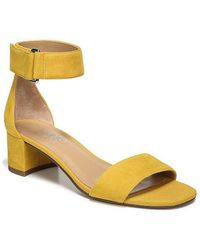 Franco Sarto Rosalina Ankle Strap Block Heel Sandals BUkQ8tVmok