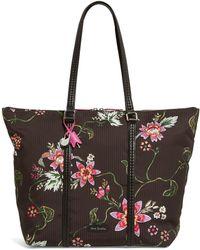 Vera Bradley - Midtown Floral Tote - Lyst