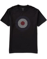 Ben Sherman - Classic Fit Houndstooth Target Short-sleeve T-shirt - Lyst