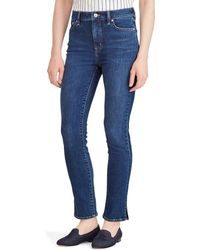 Lauren by Ralph Lauren - Petite Size Regal Straight Ankle Jeans - Lyst