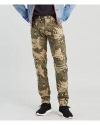 acef7c1ef Denim   Supply Ralph Lauren Slim-Fit Camo Durham-Wash Jeans in Green for  Men - Lyst