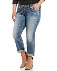 Silver Jeans Co. - Plus Sam Boyfriend Jeans - Lyst