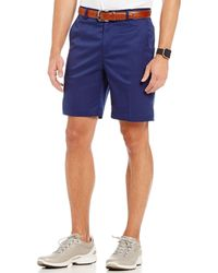 "Bobby Jones - Golf Xh20 Tech Stretch Flat-front 9 1/2"" Inseam Shorts - Lyst"