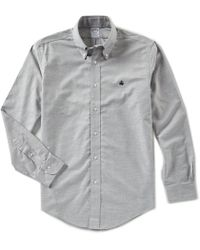 Brooks Brothers - Non-iron Solid Heather Oxford Long-sleeve Woven Shirt - Lyst
