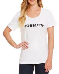 Heritage - Joske's Logo Tee - Lyst