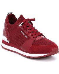 MICHAEL Michael Kors - Billie Knit Trainer Sneakers - Lyst