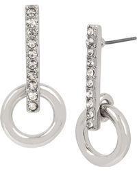 Kenneth Cole - Crystal Stick Earrings - Lyst