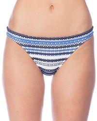 Polo Ralph Lauren - Desert Crochet Stripe Taylor Hipster Bikini Swimsuit Bottom - Lyst