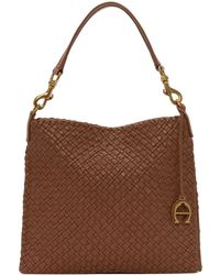 Etienne Aigner - Irena Woven Small Hobo Bag - Lyst