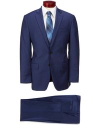 Ralph By Ralph Lauren - Classic Fit Solid Stretch Wool Suit - Lyst