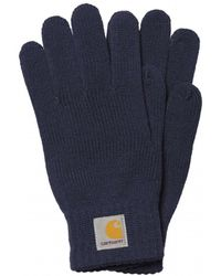Carhartt - Logo Patch Gloves - Lyst