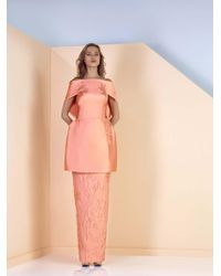 Edward Arsouni - Divina By Off The Shoulder Column Gown - Lyst