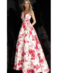Jovani - Floral Ball Gown - Lyst