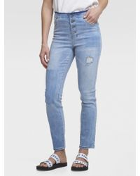 a250c849bf6 Lyst - Dkny Jeans Soho Boot Jean In Chelsea Wash 32