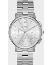 DKNY - Willoughby Stainless-steel Chronograph Watch - Lyst