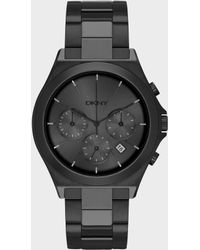 DKNY - Parsons Stainless Steel Watch, Mens - Lyst