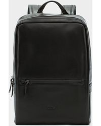 DKNY - Waterproof Leather Backpack - Lyst