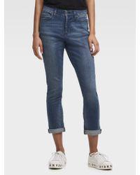 DKNY - The Soho Jean – Rolled Cuff - Lyst