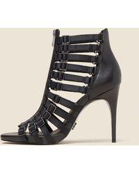 DKNY - Kat Leather Sandal - Lyst