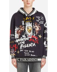 Dolce & Gabbana - Angel Hooded Sweatshirt - Lyst