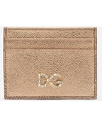 Dolce & Gabbana - Credit Card Holder - Lyst