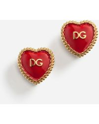 Dolce & Gabbana - Earrings With Decorative Elements - Lyst