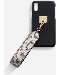 Dolce & Gabbana - Iphone X Cover With Ayers Snakeskin Bracelet Attachment - Lyst