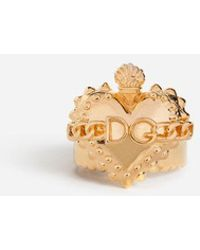 Dolce & Gabbana - Ring With Heart - Lyst