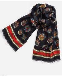 Dolce & Gabbana - Printed Cashmere/modal Scarf - Lyst