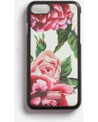 Dolce & Gabbana - Iphone 7 Cover In Printed Dauphine Calfskin - Lyst