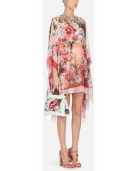 Dolce & Gabbana - Printed Silk Caftan - Lyst