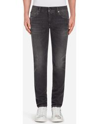 Dolce & Gabbana - Stretch Comfort Stonewashed Jeans - Lyst