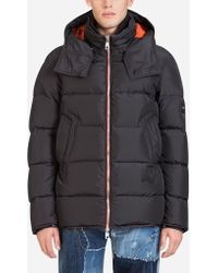 Dolce & Gabbana - Goose-feather Down Jacket With Hood - Lyst