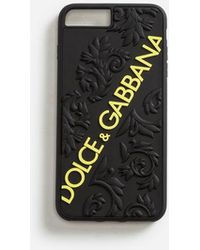 Dolce & Gabbana - Funda Iphone 7/8 Plus De Goma - Lyst