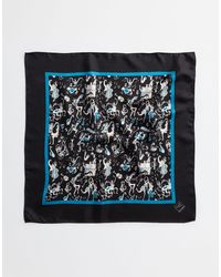 Dolce & Gabbana - Printed Cotton Scarf - Lyst