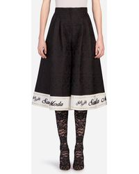 Dolce & Gabbana - Miss Sicily Shorts - Lyst