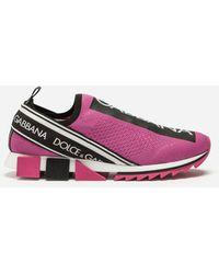 Dolce & Gabbana - Branded Sorrento Sneakers - Lyst