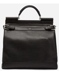 Dolce & Gabbana - Sicily Backpack In Calfskin - Lyst
