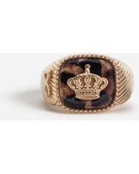 Dolce & Gabbana - Ring With Crown - Lyst