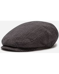 Dolce & Gabbana - Flat Cap In Cotton And Stretch Wool - Lyst