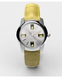 Dolce & Gabbana - Watch With Alligator Strap - Lyst