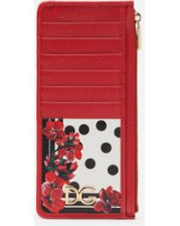 Dolce & Gabbana Vertical Card Holder