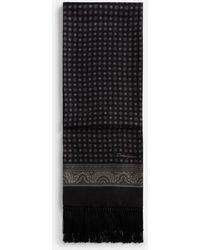 Dolce & Gabbana - Bufanda De Seda Estampada - Lyst