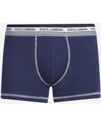 Dolce & Gabbana - Cotton Boxers - Lyst
