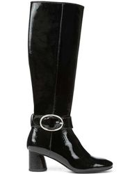 Donald J Pliner - Patent Leather Boot - Lyst