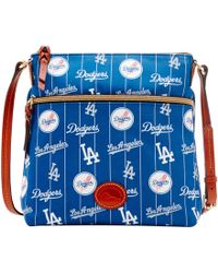 Dooney & Bourke - Mlb Dodgers Crossbody - Lyst