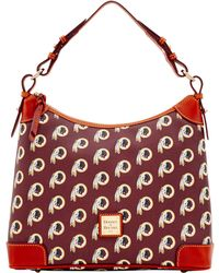 Dooney & Bourke - Nfl Redskins Hobo - Lyst